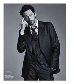 Houdini Star Adrien Brody for Esquire   The Big Black Book Mexico image adrien brody big black book photos 009
