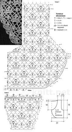 Crochet Capelet Pattern, Crochet Shawl Diagram, Gilet Crochet, Crochet Coat, Crochet Tunic, Crochet Jacket, Crochet Flower Patterns, Crochet Clothes, Crochet Stitches