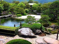 Adachi Museum of Art. Japanese garden.