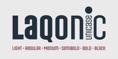 Laqonic 4F™ - Webfont & Desktop font « MyFonts