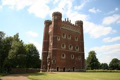 Tattershall Castle Lincolnshire England