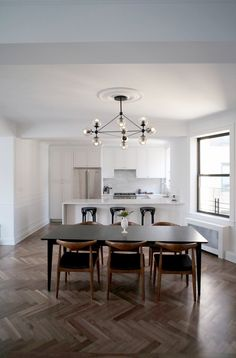 Before & After: A Period Brooklyn Heights Penthouse Gets an Overhaul: Remodelista