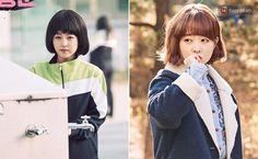 Đến thánh hack tuổi như Park Bo Young cũng bắt đầu sai sai khi mặc đồng phục học sinh - Ảnh 10. Park Bo Young, Parks, Mac, Poppy, Parkas