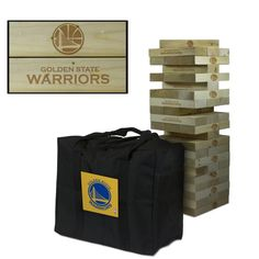Giant Tumble Tower Game - Golden State Warriors