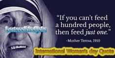 International Women's day Quote