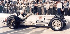 "1960 - AJ Foyt's (#5) ""Bowes Seal Fast"" Special Indy Roadster - Qualified: 16th, Speed (143.466 mph) Finished: 25th, Clutch Failure, Lap 90."