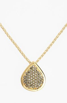 Judith Jack 'Round About' Teardrop Pendant Necklace available at #Nordstrom