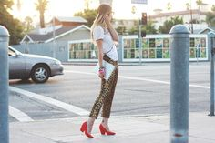 Late Afternoon wearing our Aeesha heels