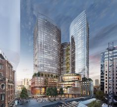 Two more towers to join Atlassian in tech hub. Sydney News, The Precinct, Harbor Bridge, Darling Harbour, Make Way, Future Jobs, Commercial Flooring, Central Station, Sydney Australia