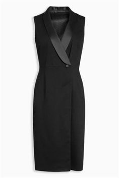 It doesn't get more classic than the LBD - a truly timeless piece of womenswear that's guaranteed to flatter, raise the bar and work for all occasions. This unique style combines masculine and feminine dressing to create one incredibly on-point look.