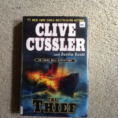 Love Clive Cussler books with Dirk Pitt.