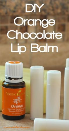 Orange Chocolate DIY Lip Balm - Oh Lardy :: Want some simple tips to help you detoxify your personal care products?  Grab this awesome PDF with great recipes and tricks to help you: https://il313.infusionsoft.com/app/form/d2af4441b09d6f19ec3310f0908ed64d
