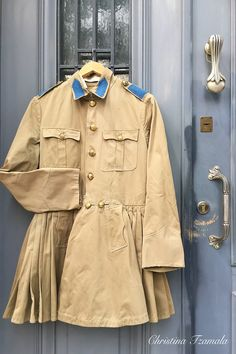 Presidential Guard Military Jacket, Random Stuff, Raincoat, Greek, Traditional, Costumes, Jackets, Collection, Fashion