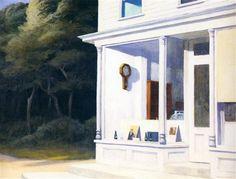 Seven A.M. - Edward Hopper, 1948