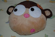 """Weighted Sensory Pillow  """"Monkey Face"""""""