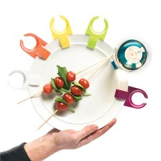 Another one of our favorite Spring Items! Wine Glass Holders that clip right to your plate. Perfect for y'all who wanna hug your guests as they arrive, but don't wanna set your wine & cheese down! We feel you! $7.99 for set of 6. http://thecrazycork.com/shop/entertaining/plate-clips-wine-glass-holder/ #PlateClips #WineGlassHolder #TheCrazyCork #fun #wine #gifts #spring #springtime #colorful #bright #entertaining #hugs