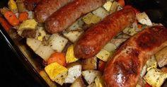Susan Recipe: Baked Sausage and Veggies