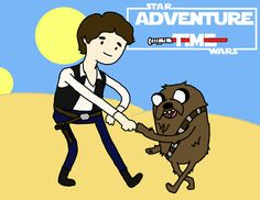 Epic cross over Star Wars Adventure Time!