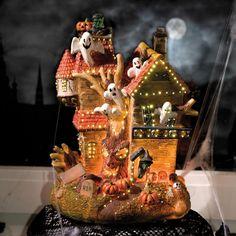 Maison hantée Halloween, référence 4523233 - Décoration et lumières pour Halloween chez Luminaire.fr !