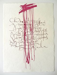 ✍ Sensual Calligraphy Scripts ✍ initials, typography styles and calligraphic art - Silvia Cordero Vega - Calligraphy artist