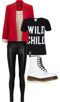 """""""Professional Punk"""" by chloearielle-fashion ❤ liked on Polyvore"""