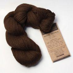 Alpaca wool yarn