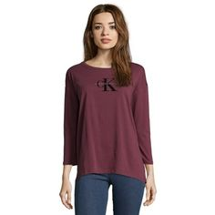 now on eboutic.ch - red wine long sleeve shirt for women Red Wine, Long Sleeve Shirts, Calvin Klein, Underwear, Tunic Tops, Clothes, Fashion, Fashion Styles, Outfits
