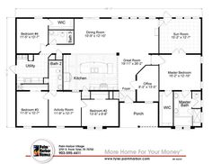 5 Bedroom Modular Homes Modern Beautiful by no means go out of types. 5 Bedroom Modular Homes Modern Beautiful may be orname Metal Homes Floor Plans, Manufactured Homes Floor Plans, Metal House Plans, Modular Home Floor Plans, Pole Barn House Plans, Metal Building Homes, New House Plans, Dream House Plans, House Floor Plans