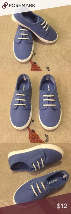 Boys Blue Sneakers Boys light blue sneakers - in great condition worn once! Shoes Sneakers