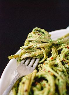 This Kale, Hemp + Flaxseed Oil Pesto is a must-try pasta recipe.