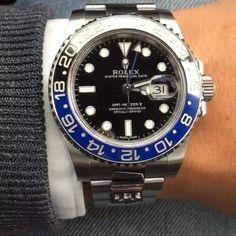 @mirko1704's Rolex GMT-Master II. Now that's a real | http://ift.tt/2cBdL3X shares Rolex Watches collection #Get #men #rolex #watches #fashion