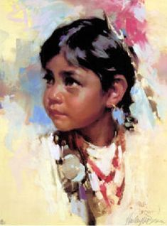 """""""I am a Child"""" The Sonora Child -  by Harley Brown"""