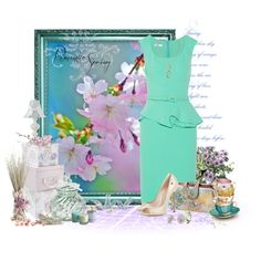 """""""Romantic Spring"""" by kginger on Polyvore"""