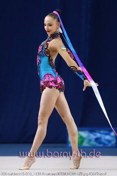 Anastasiya Serdyukova (Uzbekistan), Tashkent World Cup 2015 #rhythmic_gymnastics #rhythmicgymnastics #RG