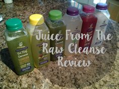 Coffee&Glitter: Juice From The Raw {REVIEW}