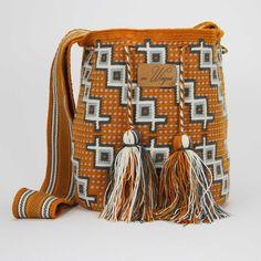Handmade wayuu mochila bag - Playa