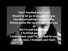 Fumble - Trey Songz (Lyrics on Screen)