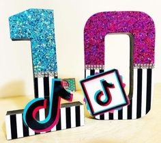 Birthday Sleepover Ideas, 12th Birthday Party Ideas, 11th Birthday, Teen Party Themes, Teenage Parties, Birthday Numbers, Craft Box, Birthday Cake Toppers, First Birthdays