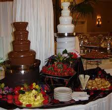 chocolade fontein -