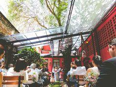 Como fazer um mini wedding em um restaurante espaço quintal