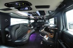 Inside Limousine Hummer Limo Do you like this limo? See more stunning limousines at www.classiquelimo.com