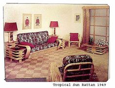 vintage ratten tables | Vintage Rattan Furniture With New Ideas / Pictures Photos Designs and ...