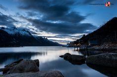 Aurora borealis - Polarlicht - Tromsø by riese. Tromso, Aurora Borealis, Norway, River, Mountains, Photography, Outdoor, Image, Pictures