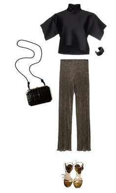 """""""nye outfit #1"""" by b-d-f ❤ liked on Polyvore featuring CÉLINE, Zara, Jimmy Choo, Fendi, NOVICA, NewYearsEve and nyestyle"""