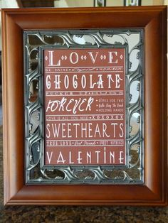 Things To Do For for Chocolate Frame as well as Valentines Day and Los Angeles with Valentine Day Message