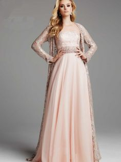 ac898fc4958 A-line V-neck Long Sleeves Lace Mother of The Bride Dress COUTURE DRESSES
