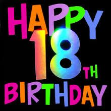 Image result for 18th birthday