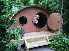 Customer hobbit hole playhouse