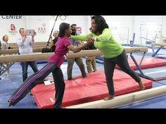 First Look: Oprah's Balance Beam Routine - Oprah's Next Chapter - Oprah Winfrey Network