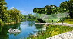 Villa AI: in simbiosi con madre natura e ralizzata con materiali riciclati